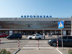 UBERの運ちゃんがかなり飛ばし屋で,20分ほどでオデッサ国際空港に到着.