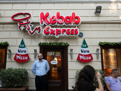 Kebab Expressで夕食