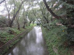 武蔵野の面影を残す玉川上水を渡って