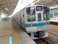 小田急多摩センター駅に到着しました。