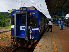いざ十分へ。 台北駅から八堵駅まで列車に乗り、そこからタクシーでトンネルを抜けて十分へ。 列車だけだと2時間弱かかりますが、タクシーなら合計で1時間程。八堵駅から十分まで500台湾ドルでした。