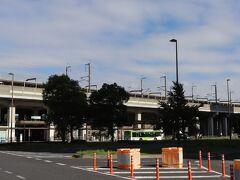 埼京線の南与野駅近くの。