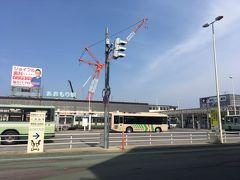 そして青森駅へ  新青森から新幹線で仙台へ向かう