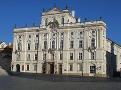 白さが眩しいシュテルンベルク宮殿(国立美術館)