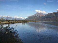 ビッグ レイク Big Lake です。 景色がいい!