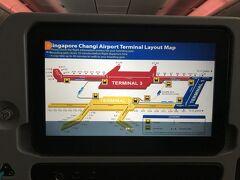 シンガポールには定刻より早着。東京から1時間の時差です。 まず、シンガポール航空でシンガポール乗り継ぎでもらえるクーポンをもらいに行きます。  その後は完全にフリー。 元々乗り継ぎが5時間程度を予定しているため、市内に行くには中途半端なので、話題のJewelシンガポールに行くことにしました。  まずT3→T2に移動します。