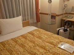 ホテルとうちゃーく!!   新大阪駅の東横INNなので明日は楽々帰られます おやすみなさい♪