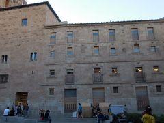 貝の家。15世紀後半に建てられたゴシック様式の建物で、巡礼者を守る騎士団の家でした。