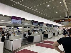さて本篇です 金曜仕事終了後に成田空港に向かいます 東京シャトルはもう台風の影響はないようで、約1時間で八重洲から第2ターミナルに到着をしてカタール航空のチェックイン