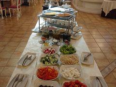 パシフィックプラザホテルの朝食 毎朝、バイキングですが豪華な朝食を満喫出来ました~