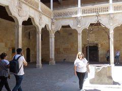 サンチャゴ巡礼者を守る騎士団の家でしたが現在は観光案内所と図書館になっています。