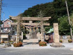 東叶神社 (13:41)  浦賀の港を挟んで、東西の叶神社が向かい合っています。