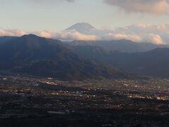 富士山は直線距離で約38.5km。