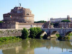 テヴェレ川からサンタンジェロ城 Castel Sant'Angelo
