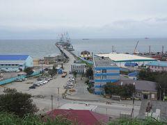 展望台からは、港がきれいに見渡せます  今日は大きな船がいないけど ダイヤモンドプリンセスもここに入港するんでしょうね~