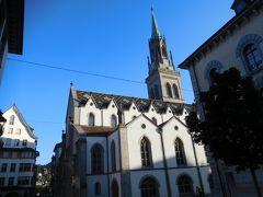 大聖堂近くの教会。グーグルマップによると改革派教会(聖ローレンツ教会)だそうだ。