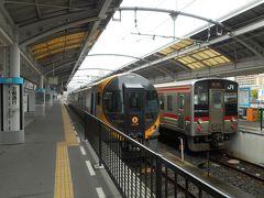 高松駅でいしづち号に。あ、新型車両。wifiも電源もついています。