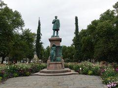 Runebergと国歌の碑。