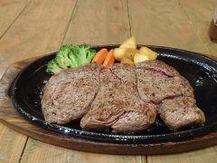 沖縄と言えばステーキをよく食う県です。 ということで久しぶりにHANSにやってきました。 ワンパウンドステーキをとビールを注文。