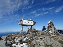 幌尻岳に登頂♪ 日本百名山の90座目。