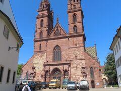 バーゼル大聖堂まで。
