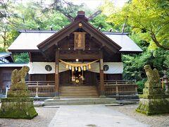 「春日山神社」 上杉謙信公を祀った神社で、勝負運にご利益ある神社です