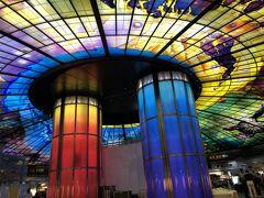 まずは、MRTに乗って、世界最大のステンドグラスの駅「美麗島駅」へ。 うわーお(^^)!まさにインスタ映え!