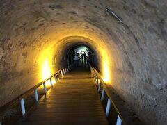 途中、トンネルを覗いたり・・・