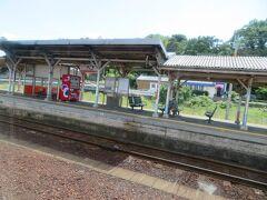 江津駅11時18分着。