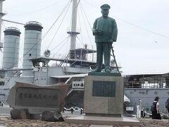 日本連合艦隊司令官・東郷平八郎像