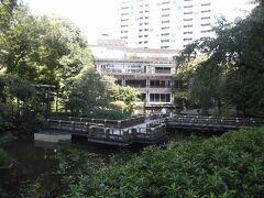 東郷記念館と神池