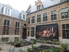 「スネイデルス&ロコックスの家」 ルーベンスの友人でありパトロンでもあったロコックスさんが集めた絵画や調度品などを展示した美術館。  アントワープシティカードで入場無料。