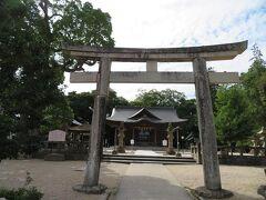 9月18日午後2時過ぎ。 松江城天守の見学を終えて二之丸に戻り松江神社をお詣りさせていただきます。