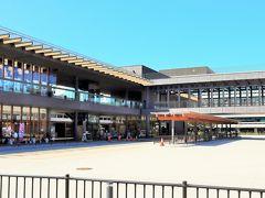 4月に奈良公園バスターミナルがオープン。 大規模で綺麗な施設です。