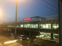 10分遅れで松山に到着しました。