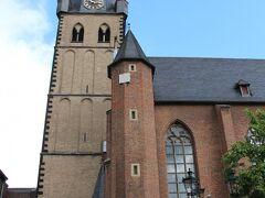 聖ランベルトゥス教会に着いたという事。