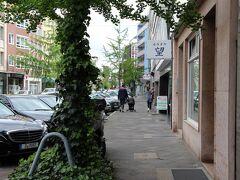 インマーマン通りに着きました。 体が和食を求めていたので、ここらへんで和食を食べようと思います。