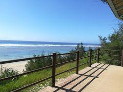 せっかく晴れているならとビーチへ。  まずは比較的近い喜念浜。 東向きなので午後に来た方が良いのだろうとは思いつつ、とりあえず。