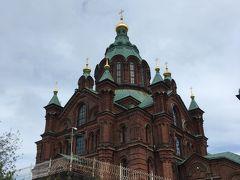 続いてウスペンスキー寺院!西ヨーロッパ最大のロシア正教会だそうです。流石隣国。形的にはヘルシンキ大聖堂の方がロシア正教っぽいですがこちらもなかなか。でも自分が行った日は休館日で中には入れず。残念