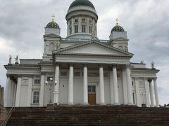 腹ごしらえが完了したら雨も止んだのでヘルシンキ大聖堂へ。フォルムがかっこよすぎです