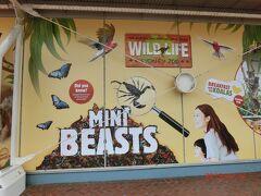9:40 ついにお目当ての【ワイルド・ライフ・シドニー(Wild Life Sydney Zoo)】に到着しました。
