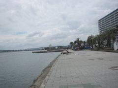 駅前の海浜公園に行ってみた