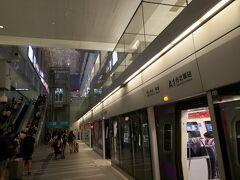 """ところどころ結構スピードを出していたので、台北駅まで遠いと感じることはありませんでした。  次回からは本格的に台北を満喫し始めます!! 続きますm(_ _""""m)"""