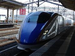 友人の車で熊谷駅まで。 駅に着いた段階でも、まだどこに行くか悩んでいました。 東京方面に行くか、でも人混みは疲れるし、やっぱり山側の軽井沢にしようという決断になりました。  30分くらい待って、10:23発の北陸新幹線長野行きに乗車。