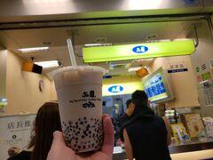 またもや50嵐、今回は小粒のタピオカミルクティーです。 MサイズでNTD35(≒126円)と、台湾で飲んでしまうともう日本では買えません(笑)