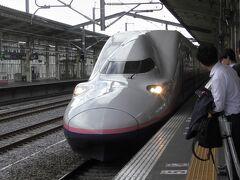 高崎からは上越新幹線で帰ります。そういえばE4系に乗るのも久しぶりだなぁ...
