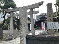 自転車だと20分程度で、磐井神社へ到着。