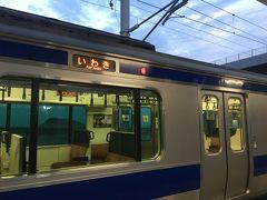 しんみりした気分のまま、18:19富岡発いわき行きに乗車します。