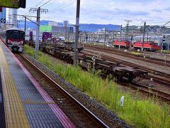さて、一路広島駅に行く前に・・・天神川駅にちょこっとだけ寄り道w