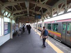 加茂駅に着きました。